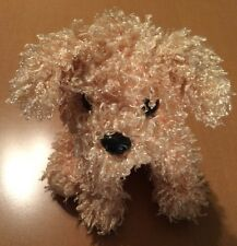 Ty Yellow Curly Haired Dog Plush from 2005