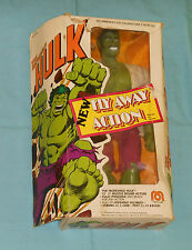"vintage Mego WORLD'S GREATEST SUPER-HEROES WGSH 12"" THE INCREDIBLE HULK in box"