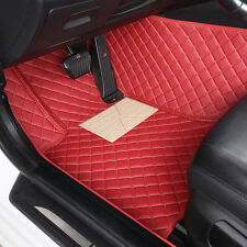 8 colors Car Floor Mats Leather Waterproof Mat For Kia Forte 2010-2017
