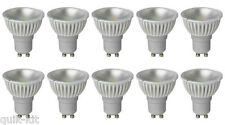 10 x Megaman 141732 LED GU10 PAR16 Lamp 4 Watt 35 Degree 4000K Cool White