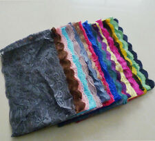 lace band under scarf tube bond 12pc/lot 12 colors