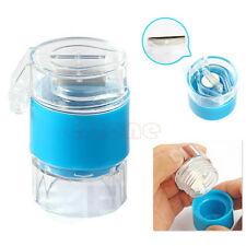 Tablet Crusher Splitter And Medicine Storage Box Easy Pill Cutter Grinder New