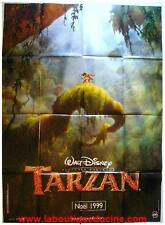 TARZAN Affiche Cinéma / Movie Poster DISNEY 160x120