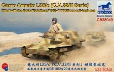 Bronco 1/35 Carro Armato L35/c W/ Swiss Solothurn S18-1100 20mm anti-tank gun