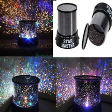 LED Cosmos Star Master Sky Starry Night Projector Light Lamp Romantic