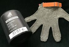 VEUVE CLICQUOT CHAMPAGNE CHAINMAIL OYSTER GLOVE BY CARL MERTENS NEW