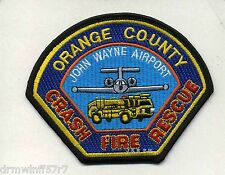 "Airport - John Wayne  Airport  C.F.R.-Orange County, CA (4.5"" x 3.5"") fire patch"