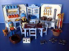 (M24) playmobil cuisine 1900 ref 5322 5300 5301 5302 5305