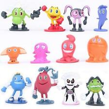 1Set 12 Pcs PAC-MAN and the Ghostly Adventures Figures PVC figure figures dolls