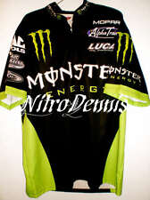 NHRA KENNY BERNSTEIN Crew Used Shirt MONSTER ENERGY Jersey NITRO Funny Car RARE