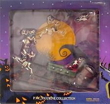 Jack Santa Zero & sled  Tim Burton Touchstone Nightmare Before Christmas NMBC
