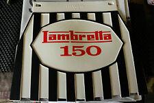 Lambretta 150 Striped Genuine Cuppini Mudflap Rubber Type