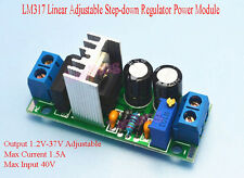 AC/DC LM317 Linear Adjustable Step-down Rectifier Filter Regulator Power Module