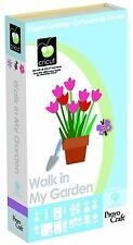 Cricut Cartridge Walk In My Garden Use w/ Explore Expression All Cricut Machines