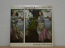 """ORIGINAL Autogramm von Judy Collins. pers. gesammelt auf VINYL 12"""" """"So Early .."""""""