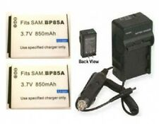 2 Battery + Charger for Samsung BP85A EABP85A EA-BP85A