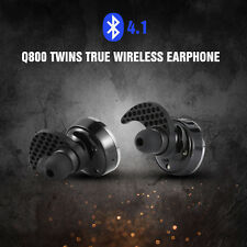 Q800 Mini Bluetooth 4.1 Earphone Earbud Rechargeble Headphone Headset MIC Stereo