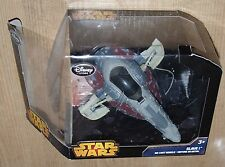 Disney Star Wars Black series Slave I Diecast vehicle space ship damaged box pac