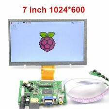"Raspberry Pi 7"" HDMI HD LCD Pantalla 1024 * 600 Display Modulo Kit 7 Pulgadas"