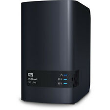 WD My Cloud EX2 Ultra 2-Bay Personal Cloud NAS Storage Server USB WDBVBZ0000NCH