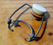 Bouchon en porcelaine et attache en métal pour bouteille de limonade ou bière, 1