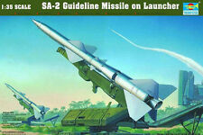 Trumpeter 00206 1/35 SAM-2 Missile with Launcher Cabin model kit