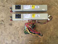 Set of 2 X 650W=1300W   power supply +distribution board Supermicro x8dtu-f