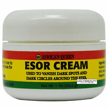 African Queen Esor Cream 1 Oz / 28.2 g for Dark Spots and Circles around eyes