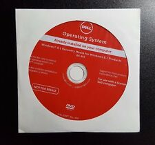 *NEW* Dell Windows 8.1 Pro/Home 64 Bit OS Restore Recovery DVD Disc w/ opt. HDD