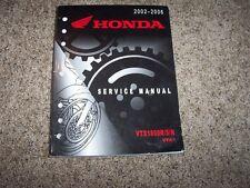 2002-2006 Honda VTX1800RSN VTX Motorcycle Bike Shop Service Repair Manual 2003