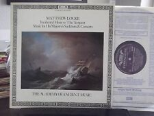 *UK IMPORT* MATTHEW LOCKE INCIDENTAL MUSIC TO THE TEMPEST LOISEAU-LYRE RECORDS