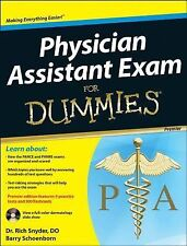 Physician Assistant Exam for Dummies by Richard Snyder 2013