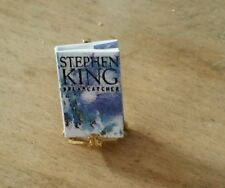 """Miniature Doll House Book Titled """" Dream Catcher """" by Stephen King Small"""