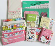 KAWAII HELLO KITTY TOTORO Sticky Notes Page Flag Post it TARGET DOLLAR SPOT 005