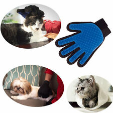v% Pet Deshedding Cleaning Brush Dog Hair Massage Grooming Groomer Optimal Glove