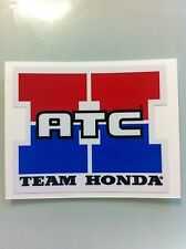 "Team Honda ATC Reproduction Decal 3.25"" 250R 350X 70 200X Sticker"