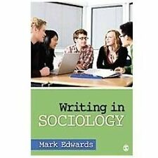 Writing in Sociology by Edwards, Mark Evan