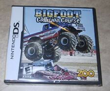 Bigfoot Collision Course BRAND NEW factory sealed for Nintendo DS Big Foot