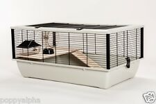 The Grosvenor Large Rat Hamster Mouse cage with Wooden Shelf + Ladder RRP £64.99