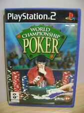World Championship Poker...PS2 Game...FREE POST AU