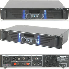 "480W STEREO POWER AMPLIFIER -- BAR / discoteca Altoparlante HI-FI SOUND SYSTEM - 19 "" 2U RACK"