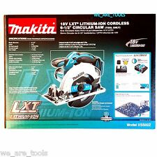 NEW IN BOX Makita XSS02Z Cordless Circular Saw 18 Volt W/ Blade 18V LXT 6 1/2""