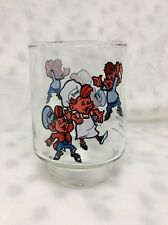 VINTAGE 1977 Kelloggs Collector Series SNAP CRACKLE POP RICE KRISPIES Glass
