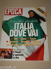EPOCA=1992/2166=MONICA BELLUCCI=SEAN CONNERY=RENZO PIANO=BOMBONATO FABIO=