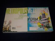 2000S METROPOLIS MAGAZINE LOT OF 12 ISSUES - DESIGN - ARCHITECTURE - O 640