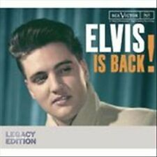ELVIS PRELEY IS BACK 50TH ANNIVERSARY EDITION 2 DISC CD MUSIC NEW SEALED PROMO