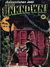 ADVENTURES INTO THE UNKNOWN COMICS 174 ISSUES ON DVD