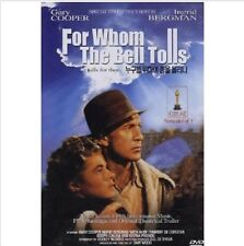 For Whom the Bell Tolls (1943) DVD (Sealed) ~ Gary Cooper, Ingrid Bergman