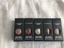 NIB Wholesale Lot Of 5 Mac Nail Lacquer Polish FULL SIZE