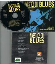 Maestros Del Blues Muddy Waters - Jimi Hendrix - Budy Guy - B:B. King..  CD 1995